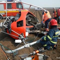 Pád vrtuľníka skončil pre pilota z Hlohovca tragicky