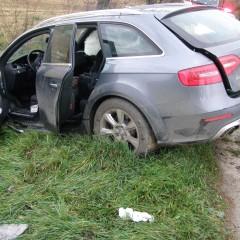 Medzi Dolným Trhovišťom a Merašicami havarovali tri autá!