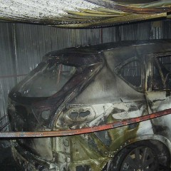 V Hlohovci horeli autá