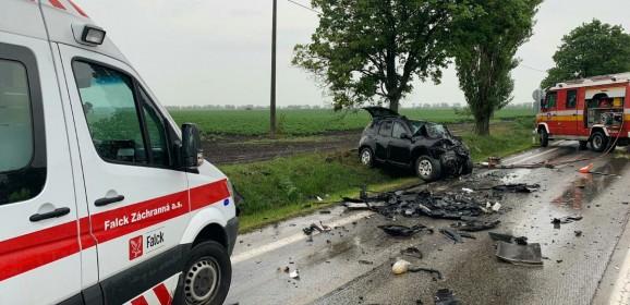 Vodiči, zvýšte na mokrej ceste opatrnosť aznížte rýchlosť jazdy!