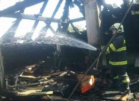 Požiar v Maduniciach