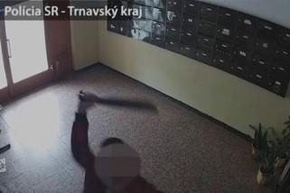Mačetou sa vyzúril na kamerách. Prekážalo mu, že ho snímajú