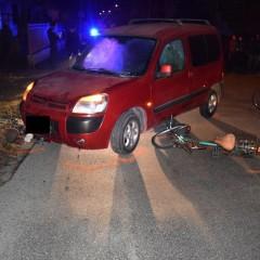 Dopravná nehoda troch cyklistiek v Leopoldove